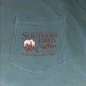 Southern fried cotton T-shirt